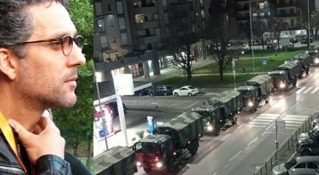 """Beppe Fiorello: """"Camion militari per portare i nudi dei morti e ancora si canta sui balconi, social si ma senza fare festa, dobbiamo fare tre giorni di lutto nazionale"""""""