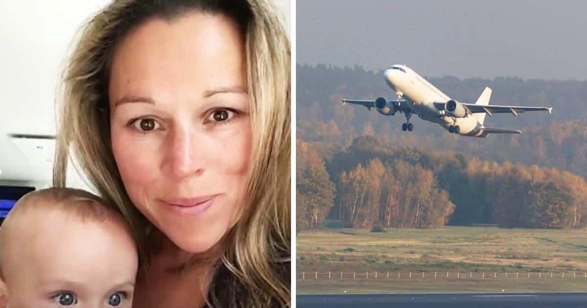 Allatta in aereo ma le si avvicina una hostess che le chiede di smettere, la reazione della donna