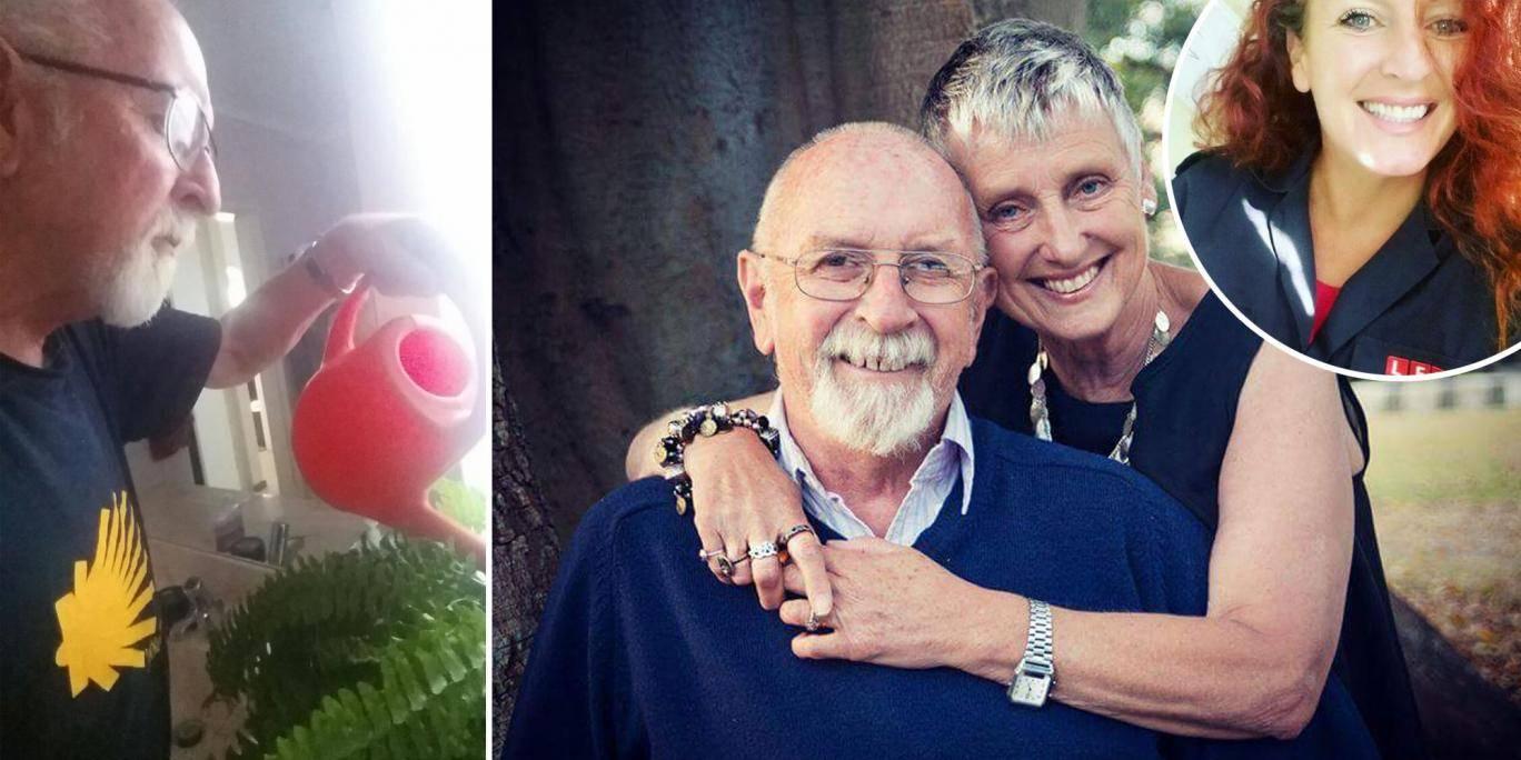Lei in punto di morte gli chiede di non dimenticare mai di innaffiare le piante, dopo cinque anni lui capisce il motivo