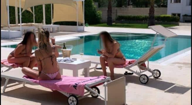 Emergenza Covid-19 ma non per tutti, in Puglia festa da nababbi in villa a bordo piscina con fiumi di champagne, a denunciarla Selvaggia Lucarelli