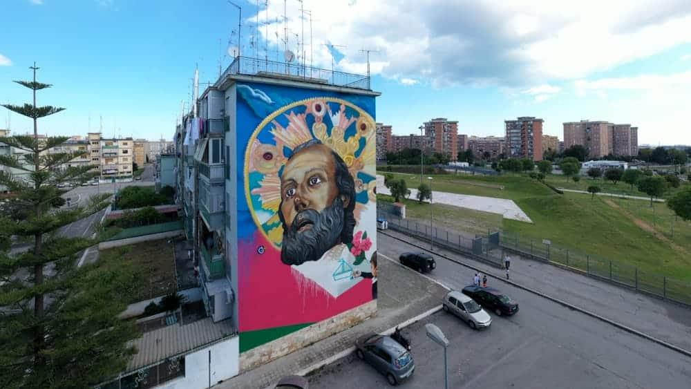 Luci artistiche illumineranno il murales di San Nicola, l'omaggio al Santo Patrono ai tempi del Coronavirus a Bari, sarà una festa di San Nicola che difficilmente dimenticheremo