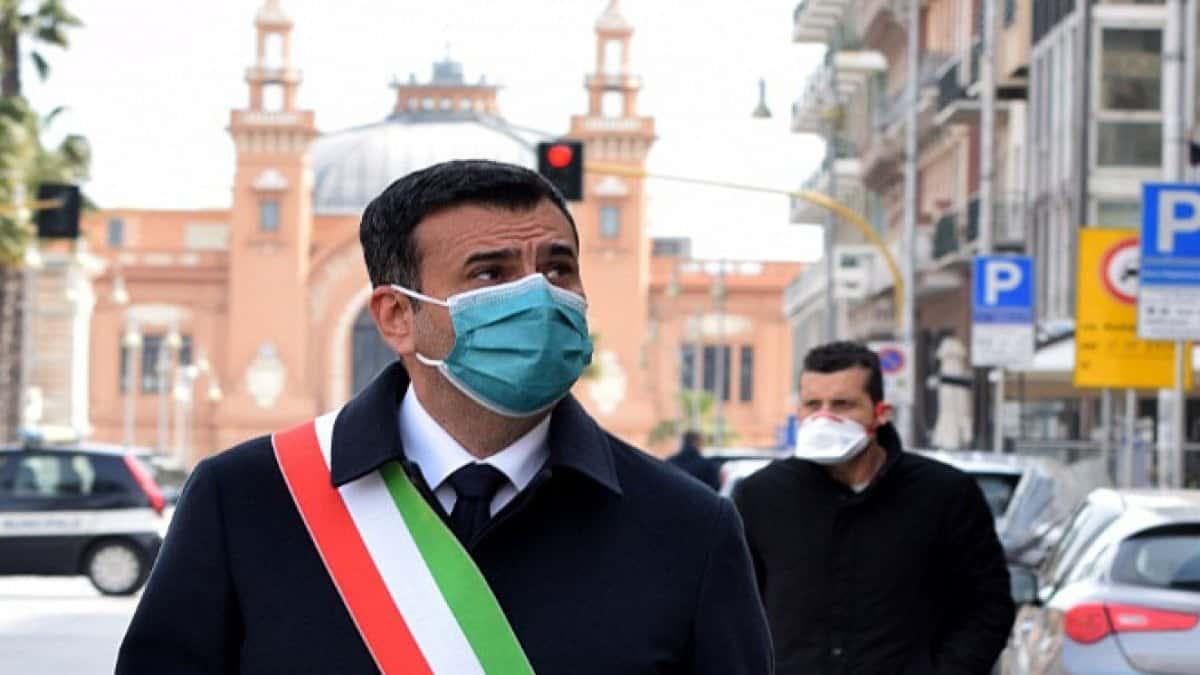 """Coronavirus Bari, un commerciante scrive a Decaro """"Dal covid sono guarito ma ora mi ucciderà la crisi"""""""