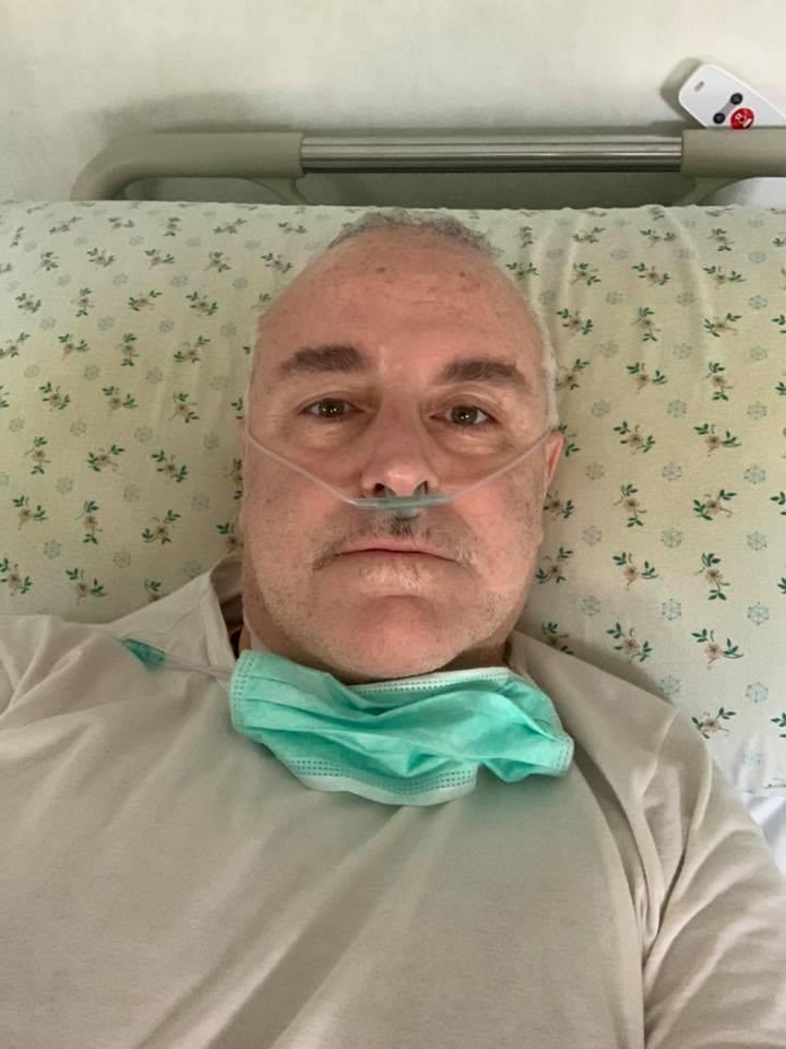 """Il giornalista Nando Nunziante racconta la terribile sua esperienza con il covid-19 """"Ho pensato di non farcela, 12 giorni di febbre alta, 10 crisi respiratorie, conserverò un ricordo indelebile del personale del Policlinico"""""""