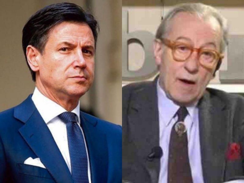 """Vittorio Feltri a Fuori del Coro, attacca Conte """"Non capisce un ca*** di governo e di tutto il resto"""""""