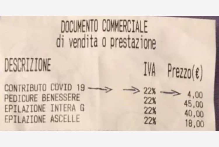 Fase 2, ecco la tassa-Covid-19 sugli acquisti, la prova negli scontrini