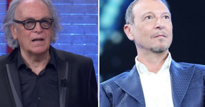 I Soliti Ignoti, Amadeus in forte imbarazzo per il comportamento di Riccardo Fogli, offende il parente misterioso