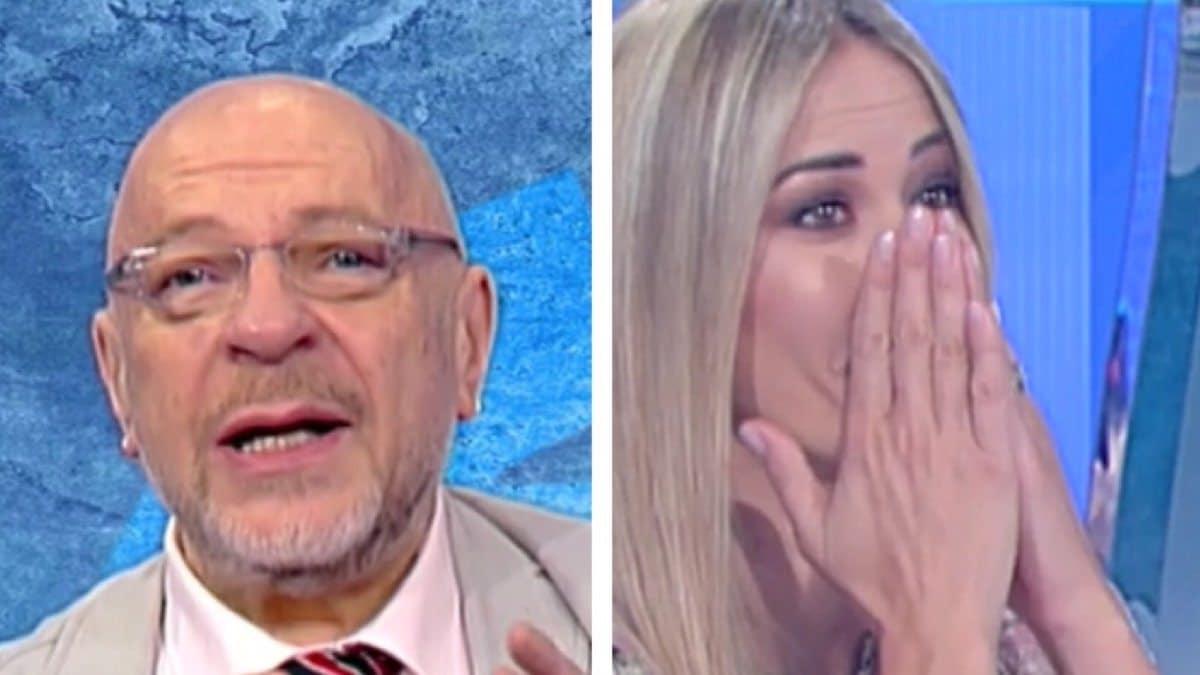 """Italia Sì, Platinette mette in forte imbarazzo Elena Santarelli, interviene Marco Liorni: """"Basta"""""""