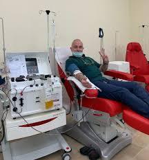 Coronavirus, il giornalista Nando Nunziante dopo la guarigione dona il plasma per aiutare gli altri