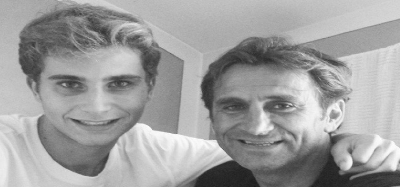 """Zanardi, il figlio Niccolò gli scrive: """"Forza Papà, ti aspetto"""""""