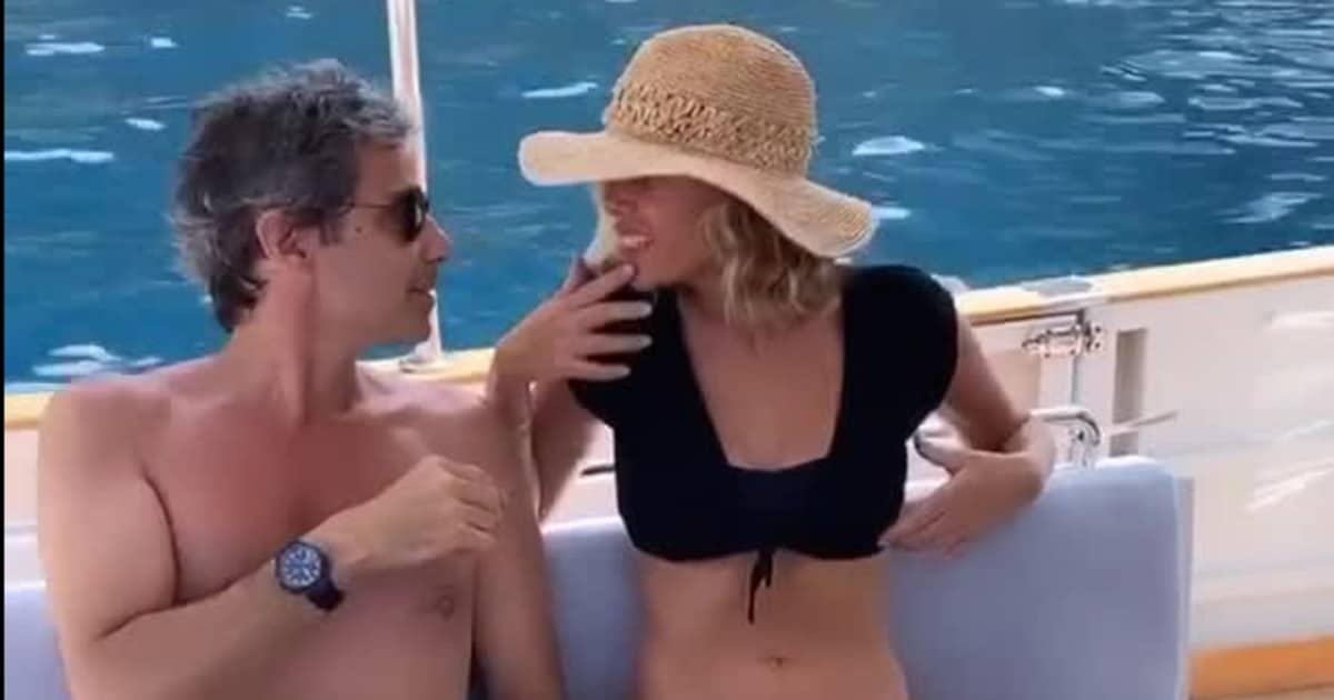 """Alessia Marcuzzi pubblica un video con il marito ma il mondo del web si rivolta """"non ci prendete in giro"""""""