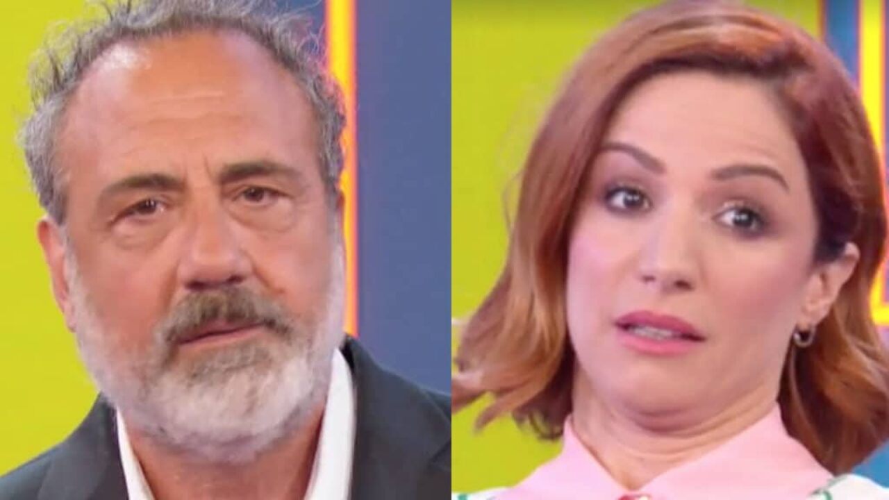 Vita in Diretta, Andrea Delogu fa la stessa domanda a Masi per la seconda volta e a quel punto Masi la stronca: «Non fa ridere…»