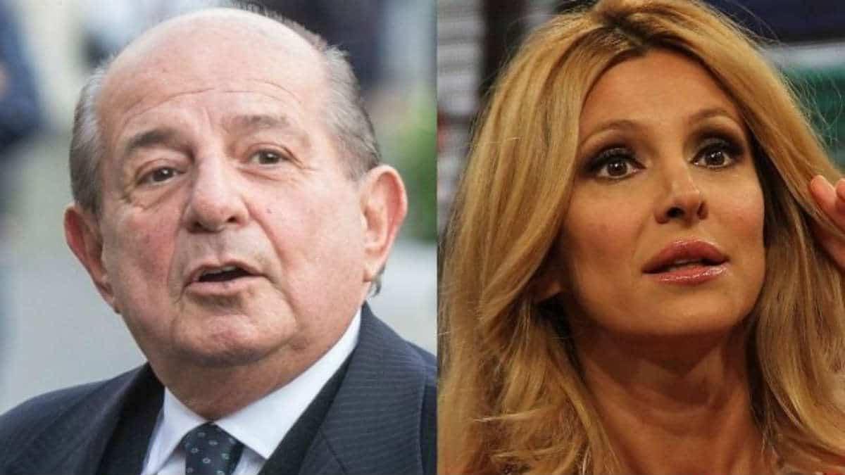 """Giancarlo Magalli e Adriana Volpe la guerra continua, lei fa una battuta in televisione e lui sui social """"Stai zitta"""""""
