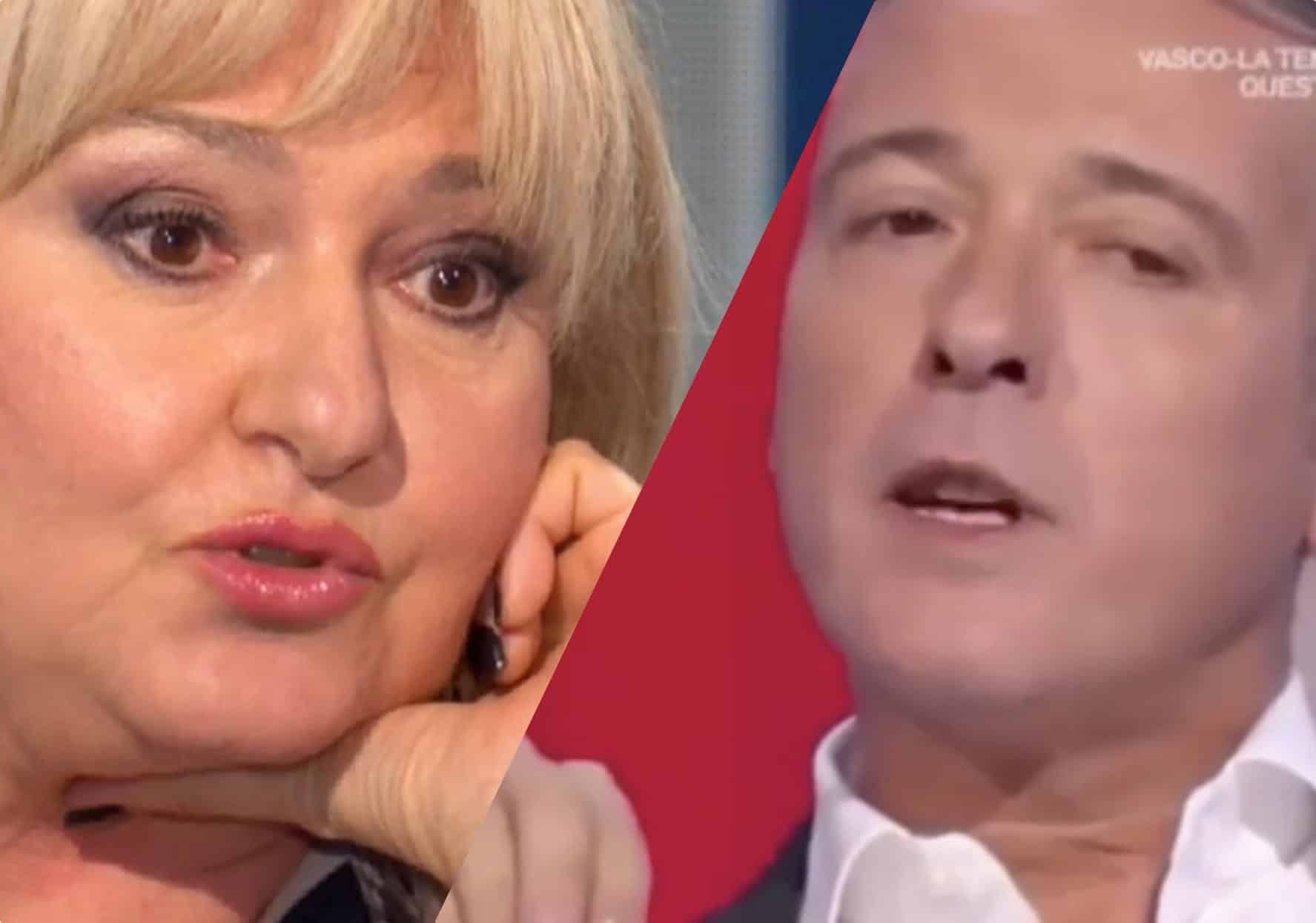"""Pierluigi Diaco e Monica Sette, dopo lo scontro la Sette puntualizza sui social, """"a tutti …"""