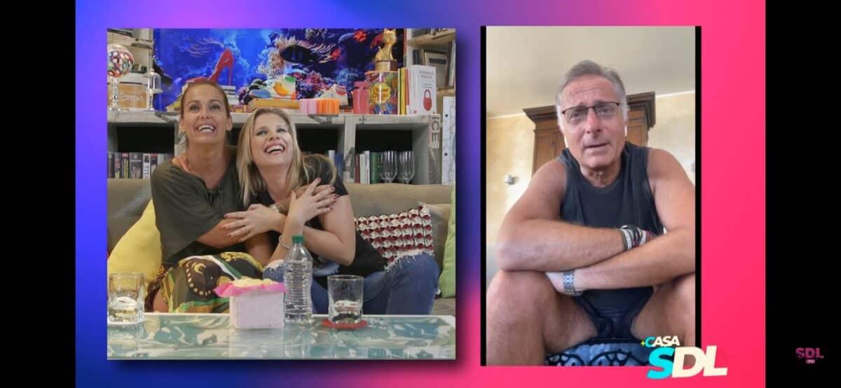 Sonia Bruganelli e Laura Freddi insieme sul web, poi coinvolgono Paolo Bonolis ma la situazione sfugge di mano e finisce male