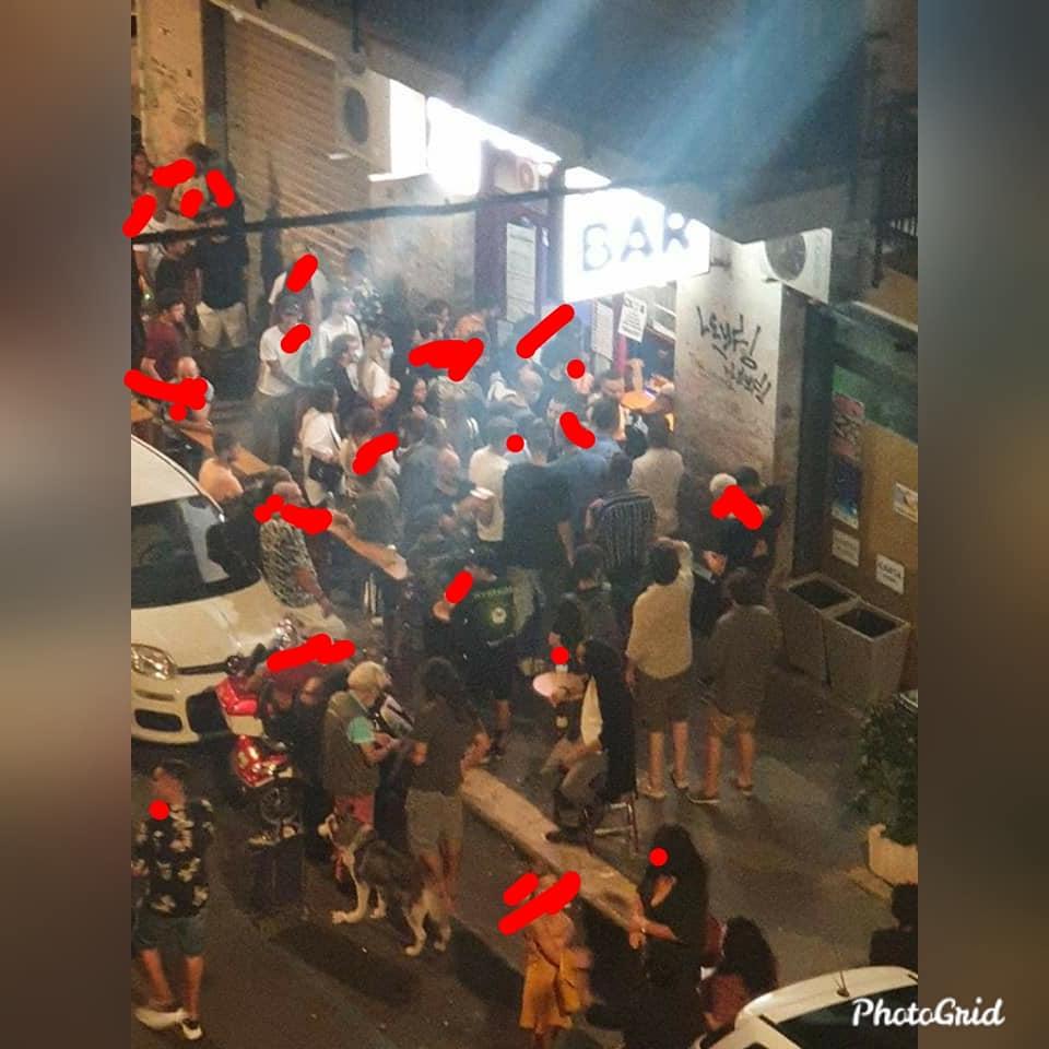 """Covid-19, la movida a Bari non conosce il distanziamento sociale, i residenti della zona Umbertina, """"Intervenite prima che sia troppo tardi!"""""""