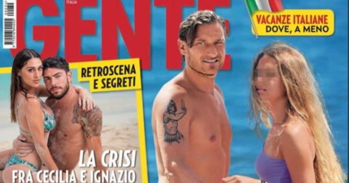 Totti e Ilary Blasi nella bufera, la figlia 13enne sulla copertina di un giornale indigna il web, come reagiscono