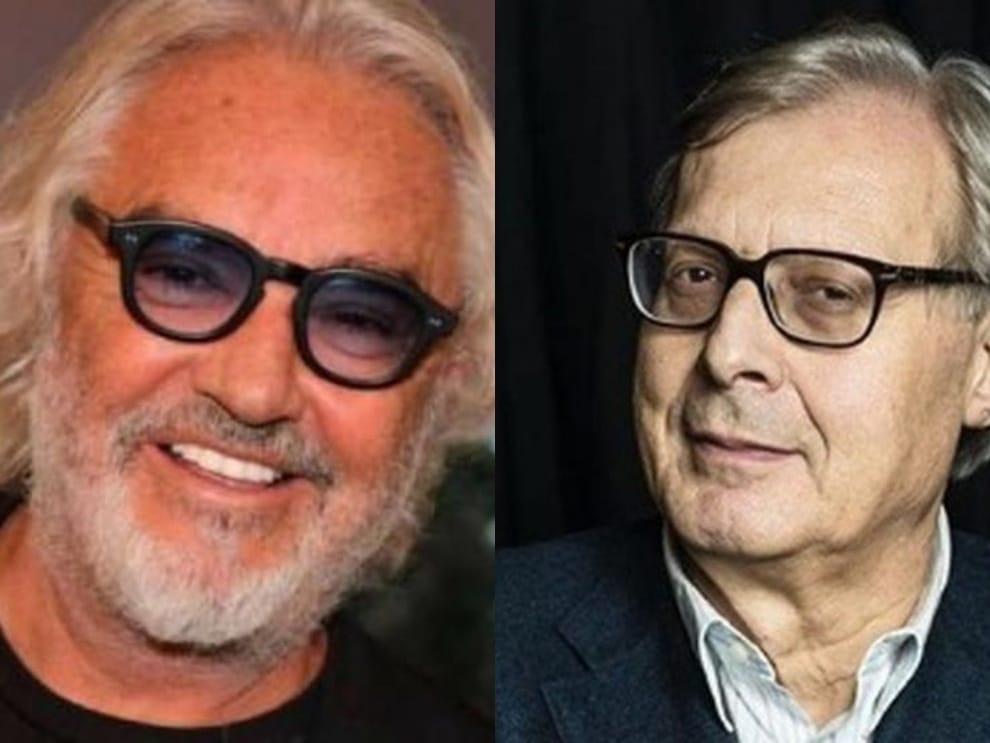 """Vittorio Sgarbi dichiarazione durissima: """"Se Flavio Briatore muore …"""""""