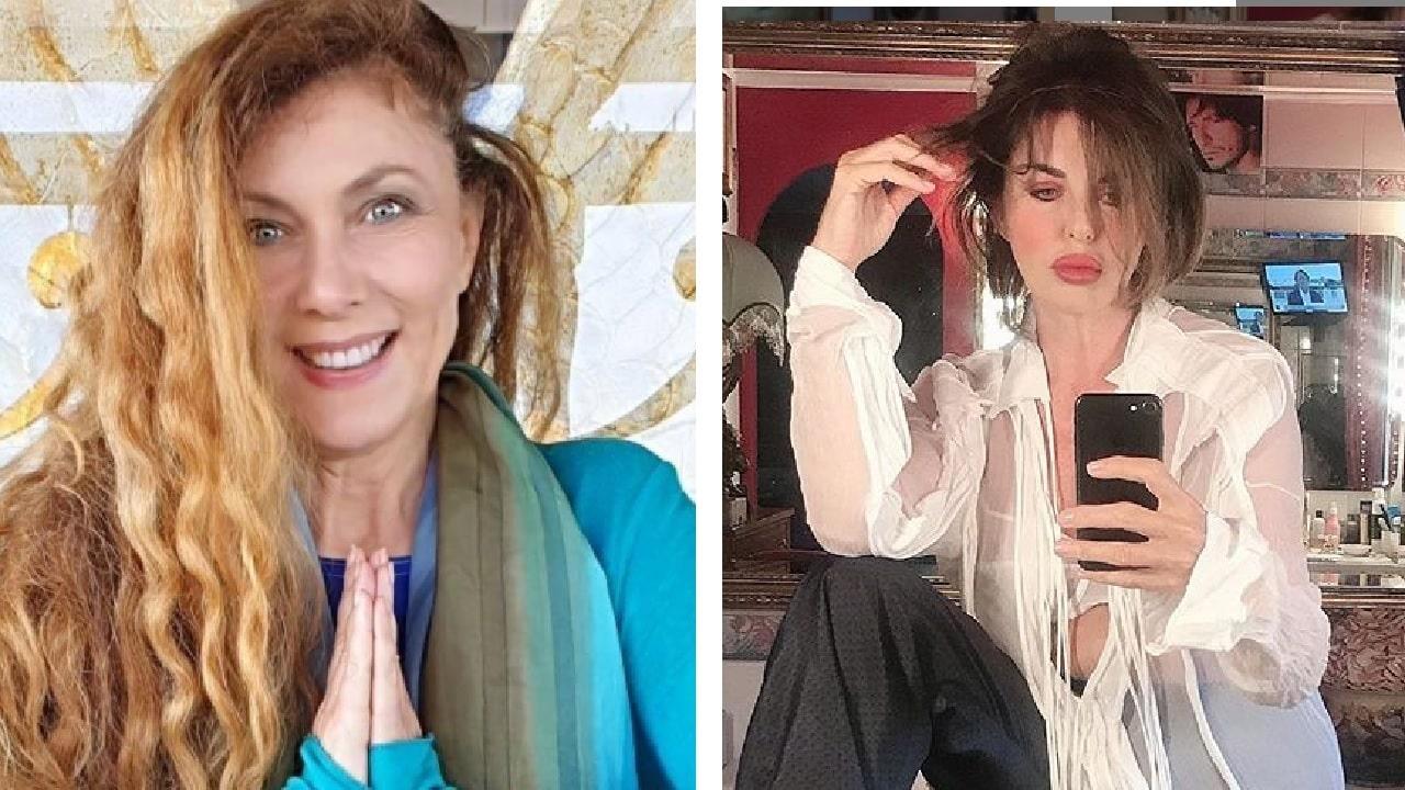 """Eleonora Brigliadori attacca duramente Alba Parietti: """" Danneggiata cerebralmente dalla chirurgia estetica"""" e la Parietti  """"mi fa pena, ha bisogno di aiuto """""""