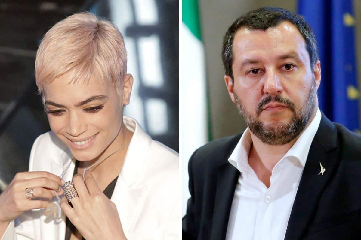 Elodie attacca duramente Matteo Salvini e la Lega le risponde a tono