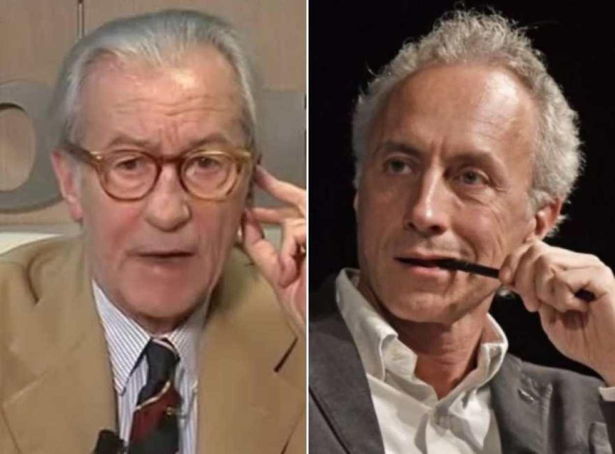 Vittorio Feltri attacca Marco Travaglio, lezioni di grammatica e non solo