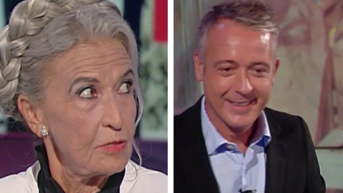 """Pierluigi Diaco ospita Barbara Alberti che dice: """"come ho fatto a dimenticare?"""" e Diaco trattiene la commozione"""