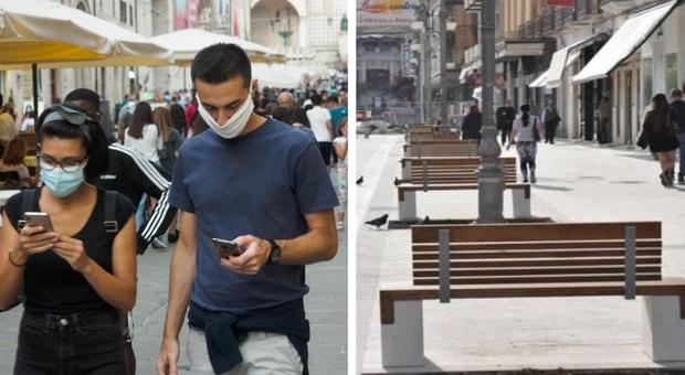 Emergenza Covid-19, a Foggia da oggi mascherine obbligatorie anche all'aperto e chiusura la domenica dei centri commerciali