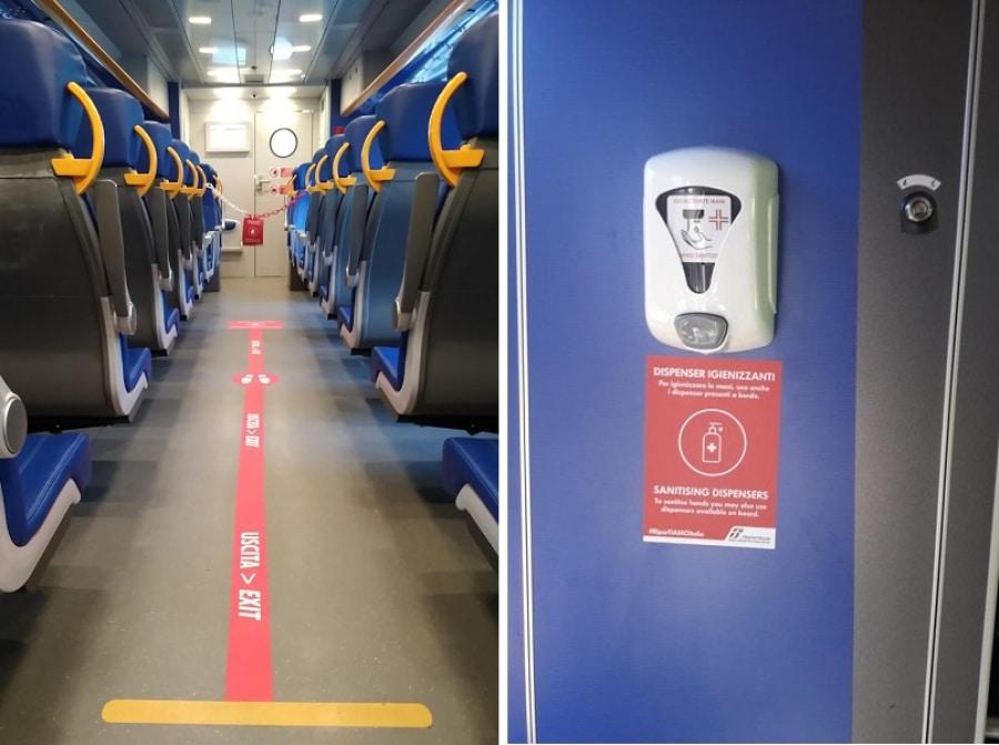 Emergenza Covid-19, viaggia da Milano in treno con febbre altissima e polmonite, ricoverato nel reparto di malattie infettive