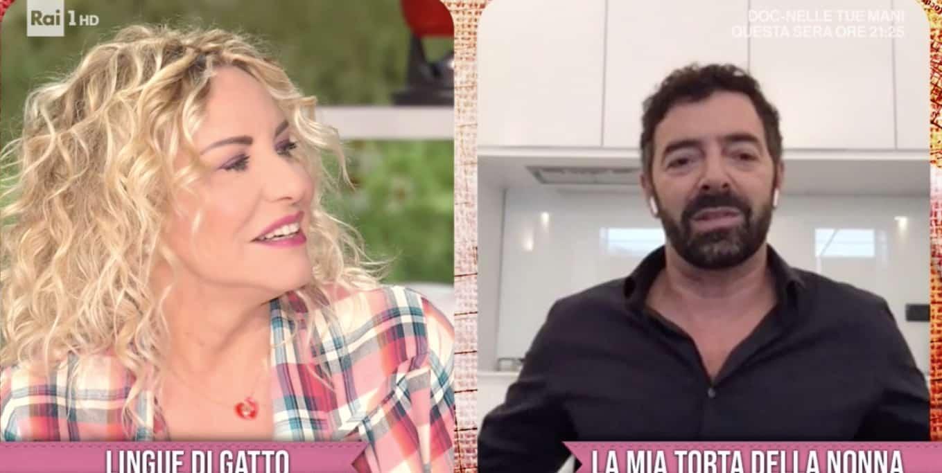 """È sempre mezzogiorno, Alberto Matano si sfoga in diretta con Antonella Clerici poi dice """"Meno male che ci sei tu"""" e spiega il perchè"""