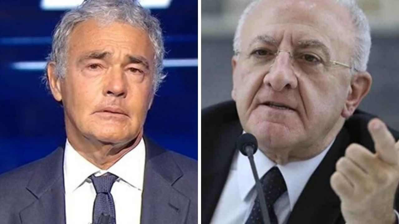 """Massimo Giletti massacrato da Vincenzo De Luca: """"da ricoverare per coma etilico """""""
