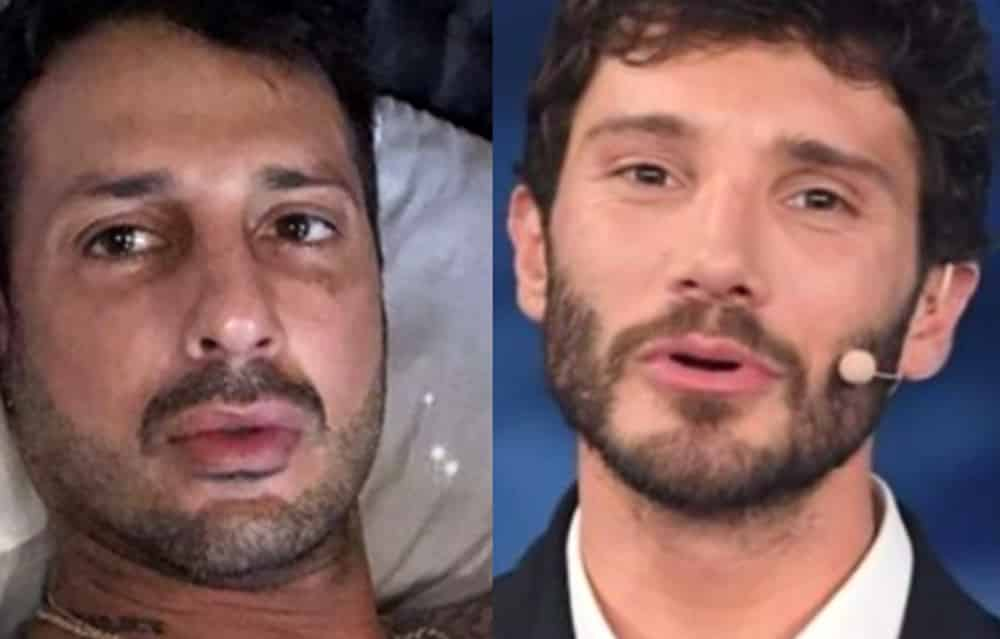 """Fabrizio Corona dice di De Martino """"vuole solo fare il protagonista"""", Stefano De Martino gli risponde sui social e lo asfalta"""