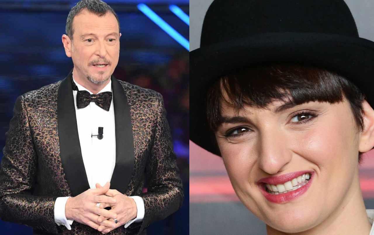 Sanremo 2021, Arisa fa una battuta sulla moglie e Amadeus rimane di ghiaccio, grandissimo imbarazzo in studio