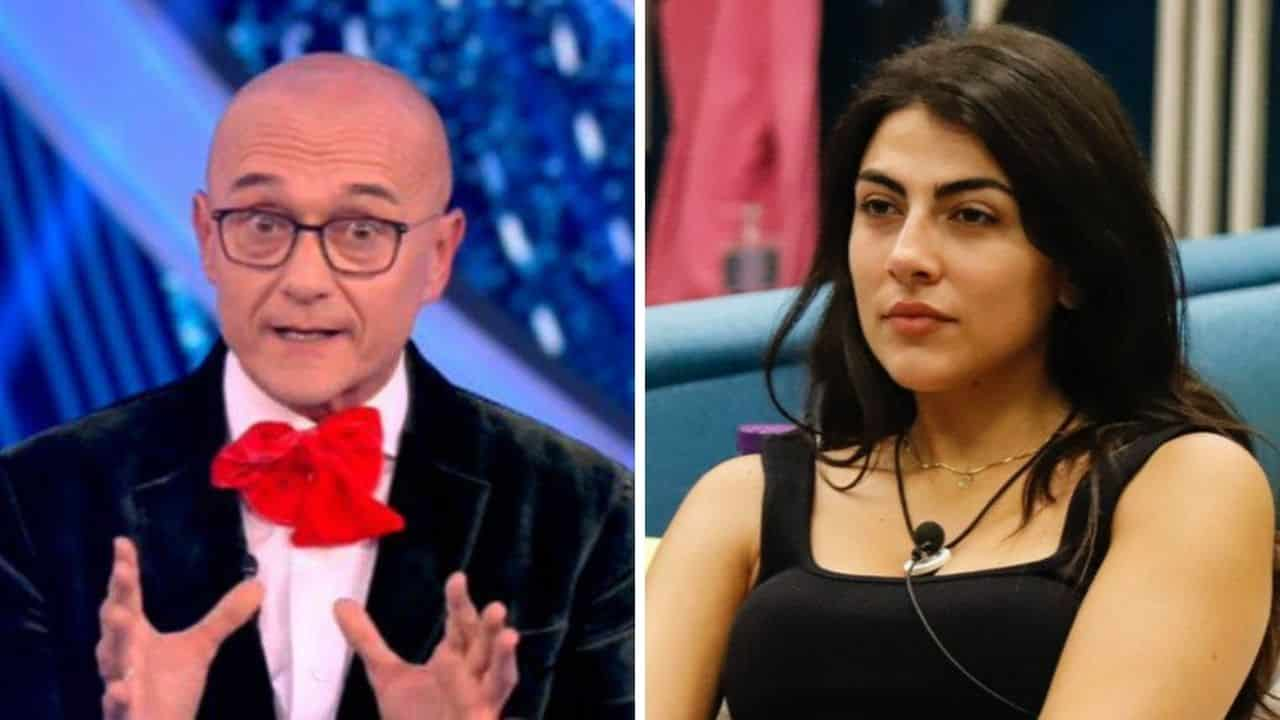 """GFV lite in diretta, Giulia Salemi ad Alfonso Signorini """"Non usare questi toni"""" e lui """"Sei tu che …"""", il web si rivolta contro Signorini"""