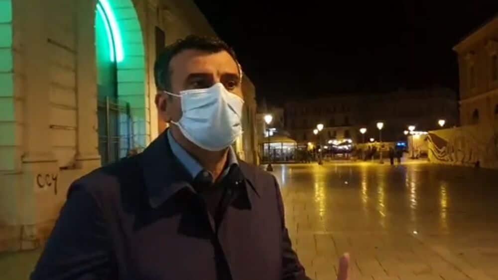 """Emergenza Covid-19 a Bari, il Sindaco Decaro """"la vigilia di una festa, potrebbe essere la vigilia di una tragedia"""""""