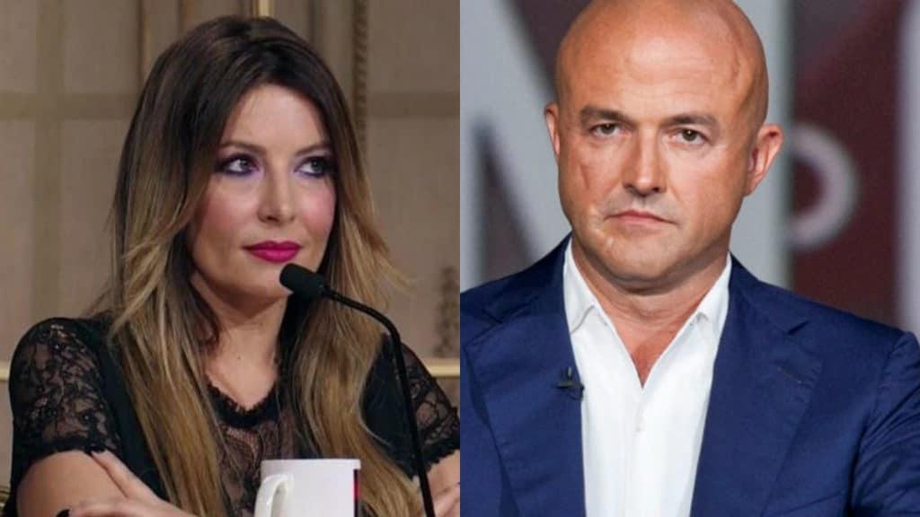 """Selvaggia Lucarelli attacca Gianluigi Nuzzi """"peracottaro"""", lui le risponde e la massacra"""