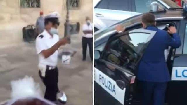 Puglia, neo sposi nel giorno del loro matrimonio multati da un vigile inflessibile, per festeggiare avevano utilizzato troppo il clacson della propria auto