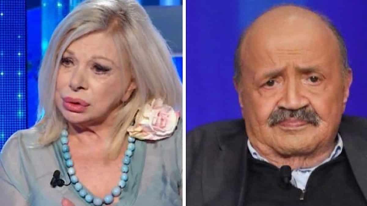 """Maurizio Costanzo fuori di sé per Sandra Milo """"Lei chi è …"""""""
