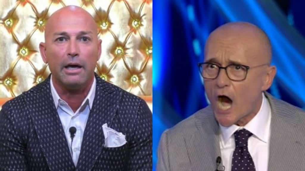 """Stefano Bettarini massacra Alfonso Signorini: """"hai sempre perso però avresti vinto contro un programma per … """""""