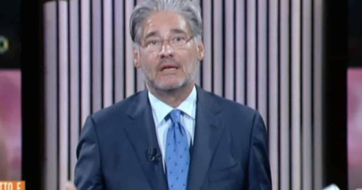 """Paolo Del Debbio, """"non dico chi è la mia nuova compagna nemmeno sotto tortura, però vi posso dire che …"""""""