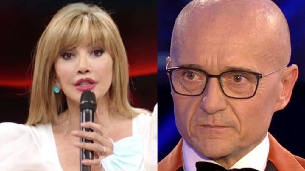 """Alfonso Signorini """"Milly Carlucci? Il nulla"""", risponde la Carlucci """"Sei tu che …"""", volano parole grosse"""