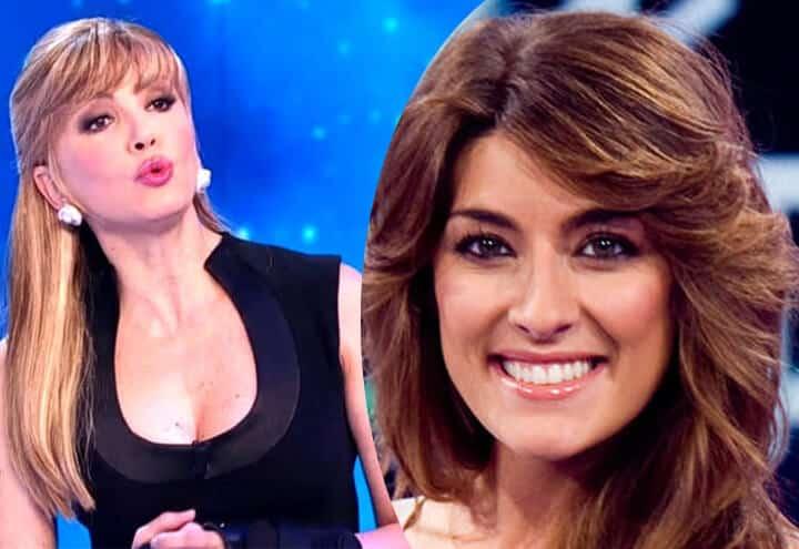 """Milly Carlucci in conferenza stampa dice: """"E' normale che Elisa Isoardi venisse esclusa dal cantante mascherato perché …"""""""