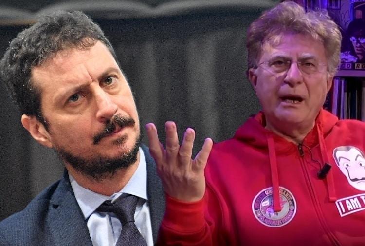 """Luca Bizzarri e Red Ronnie, volano parole grosse, Bizzarri """"Imbecille e se ti incontro …"""""""