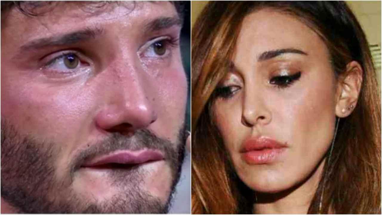 Belen incinta, Stefano De Martino posta una foto mentre è a casa e il web si accorge di quanto sia triste