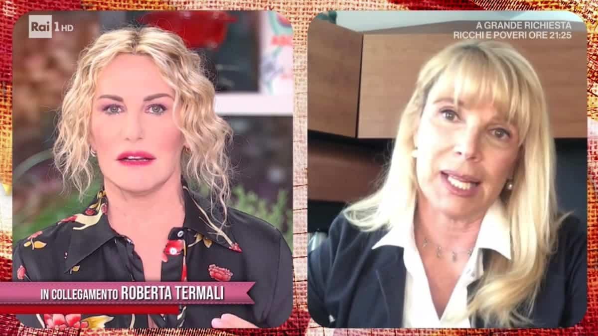 """GfV, su Roberta Termali interviene Antonella Clerici che dice: """"La dico io la verità perché io c'ero"""""""