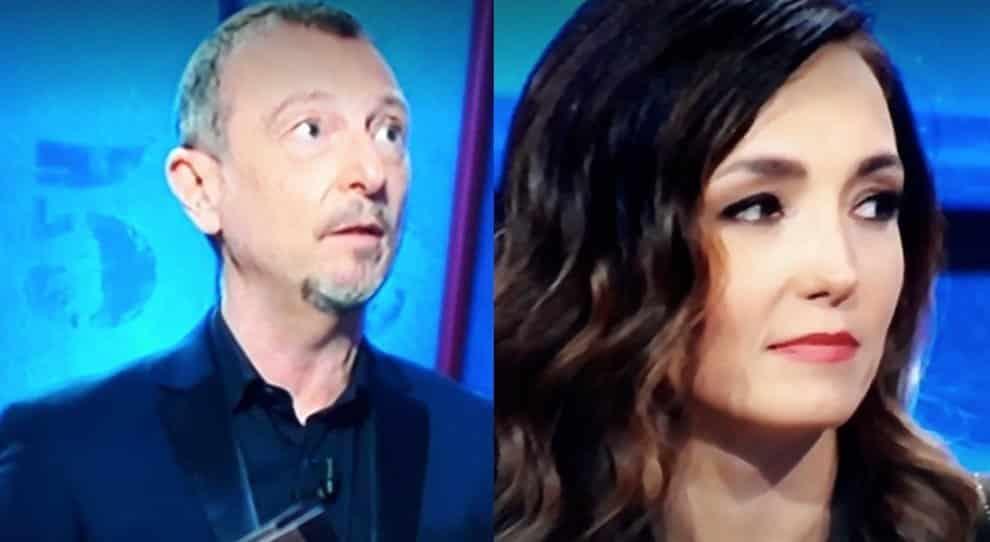 """I Soliti Ignoti, Caterina Balivo sbotta con Amadeus """"No, questo non …"""" e lui le risponde a tono """"Ai soliti ignoti non …"""", cala il gelo in studio"""