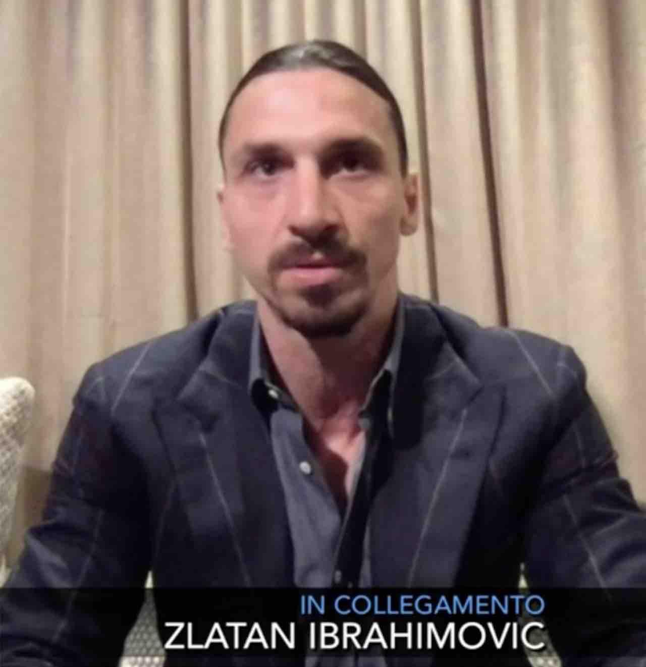"""Che tempo che fa, Fabio Fazio a Zlatan Ibrahimovic: """"Se tu fai il presentatore io faccio il calciatore"""" ma la risposta di Ibrahimovic fa rimanere di ghiaccio Fazio che non controbatte"""