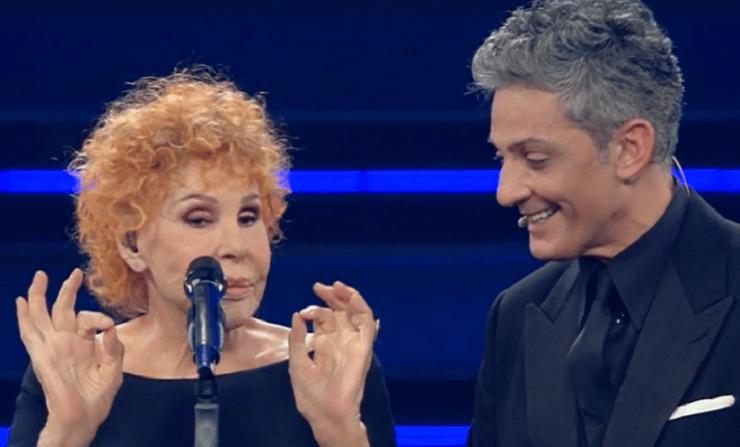 """Sanremo 2021, Ornella Vanoni battuta al veleno a Fiorello che rimane di ghiaccio """"Ma tu canti? .."""""""