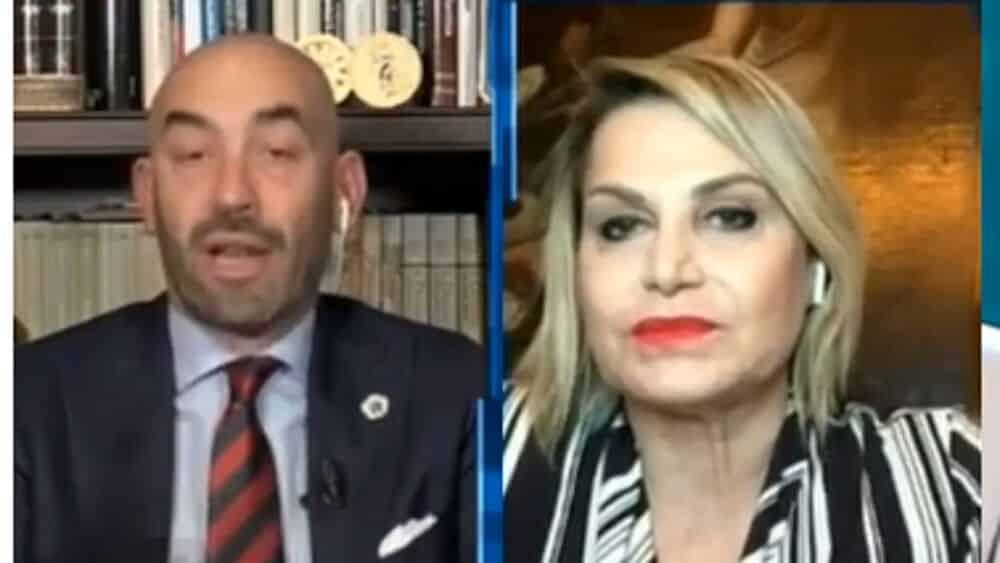"""Cartabianca, Matteo Bassetti violenta lite con Simona Ventura """"Si prenda una laurea e …"""""""