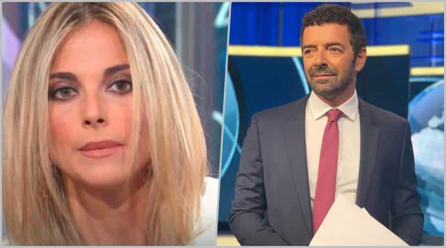 """Alberto Matano e Francesca Fialdini, lei sui social scrive """"dopo aver …"""", il web si infiamma"""