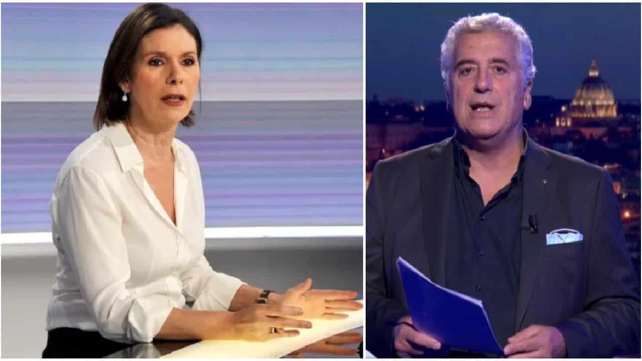 """Cartabianca, Bianca Berlinguer massacrata da Maurizio Mannoni """"Passa la linea in ritardo per fare quella roba …"""""""