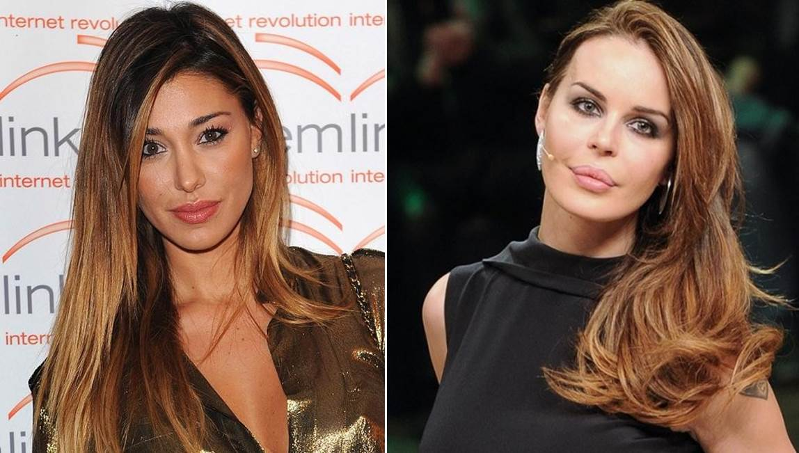 "Belen Rodriguez, durissimo attacco sul web ""Lei e Nina Moric …"""